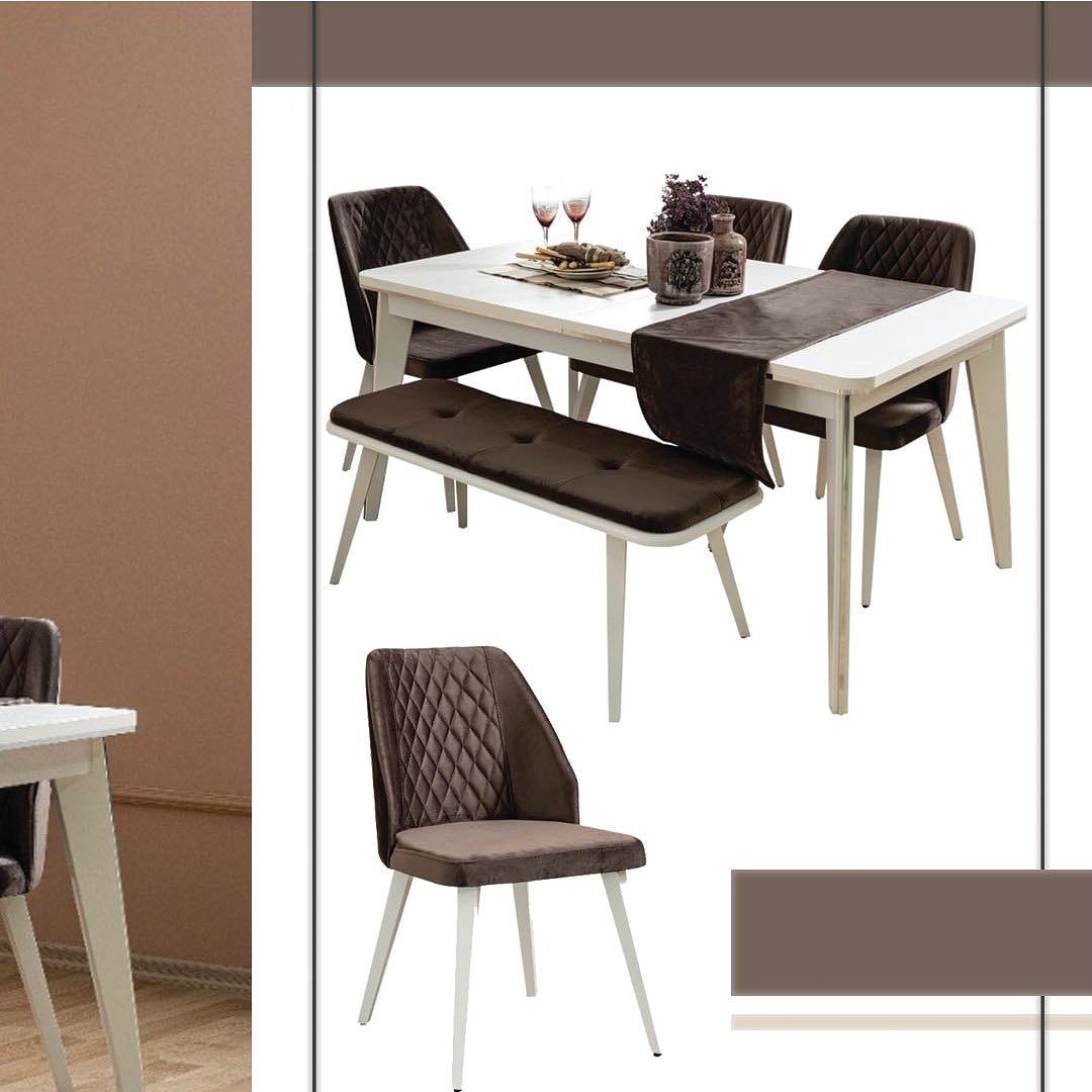 Soon Modern Dining Table Set Dining Table 6 Chair Tv Table Console With Mirror Pay To Reserve Your Bedroom قريبا Coffee Table Table Home Decor