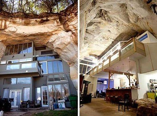 underground cave home. Lake Norman  Cornelius and Charlotte Real Estate 5 Amazing Underground Houses