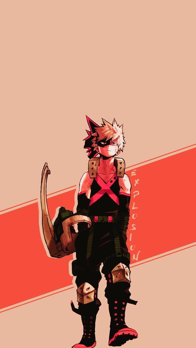 Katsuki Bakugou Boku no Hero Academia Hero, Boku no