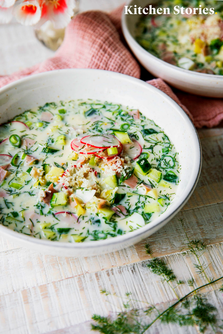Okroshka (Russische kalte Suppe) #okroschkarezept