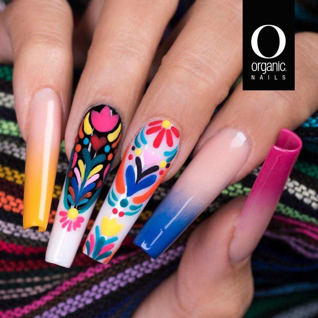 Organic Nails On Instagram Acrylic Tetekolo De Adriana Gomez By Organic Nails Tetekolo Es Una Palabra De Origen Nahuatl Nails Organic Nails Acrylic