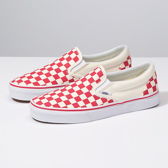 Checkerboard Slip-On   Shop Shoes At