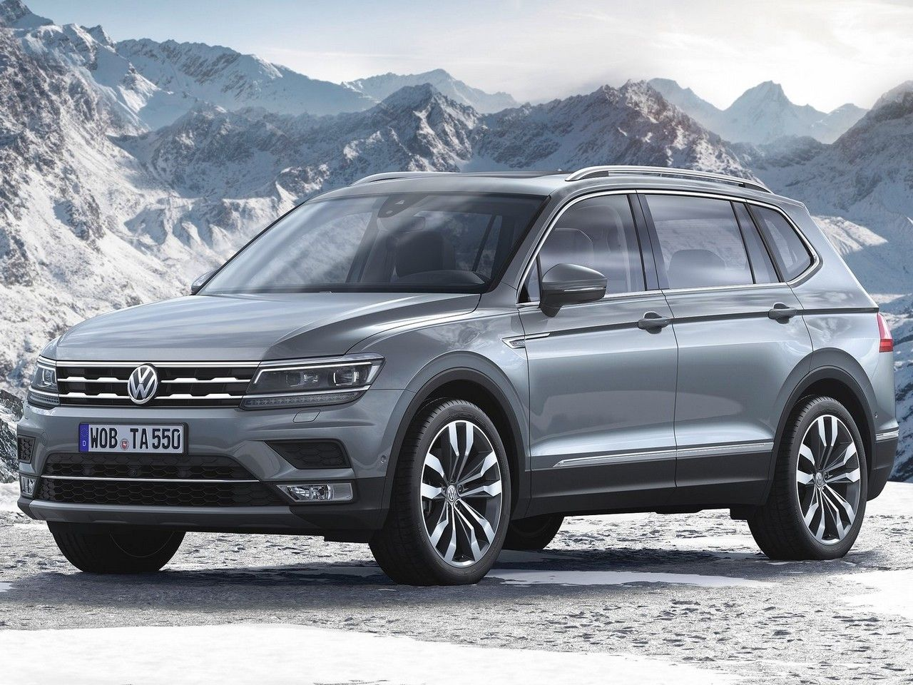 volkswagen tiguan allspace 2018 moteur 4 cylindres de 2 0 litres 184 ch. Black Bedroom Furniture Sets. Home Design Ideas
