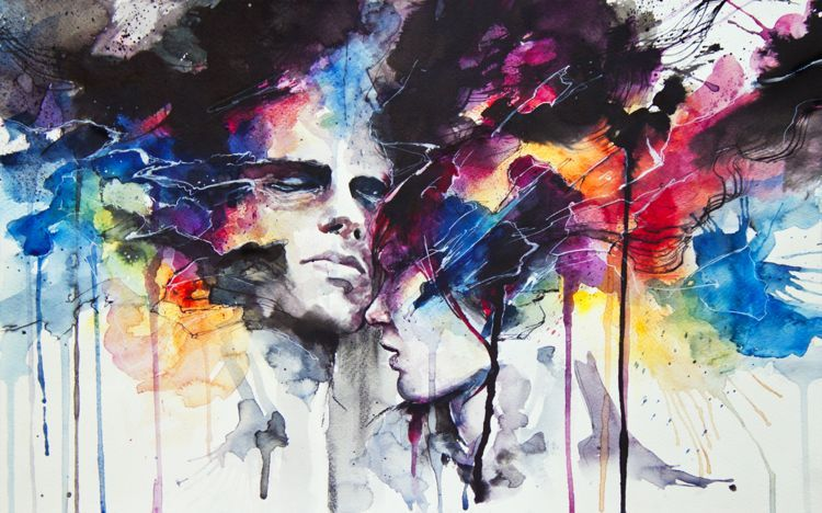 Fonds d 39 cran art peinture fonds d 39 cran abstrait for Art et artiste
