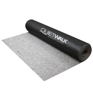 Quietwalk 360 Sq Ft X 6 Ft X 60 Ft X 1 16 In Acoustical Underlayment With Vapor Barrier For Luxury Vinyl Flooring Qwlv360 The Home Depot In 2020 Luxury Vinyl Plank