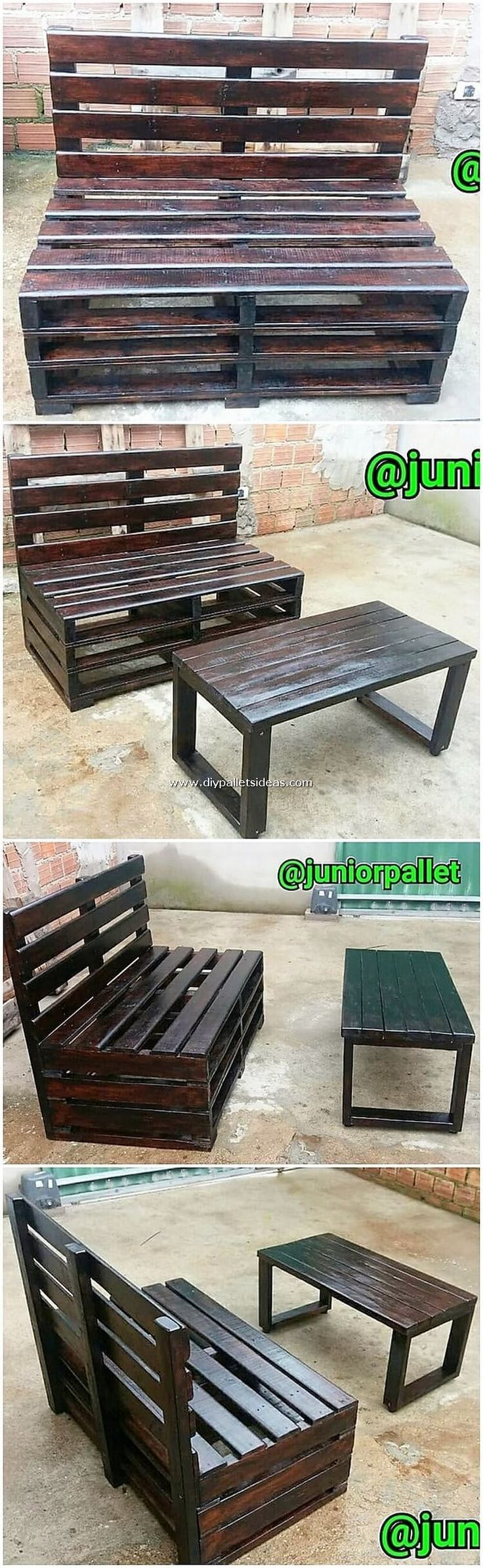 Unthinkable DIY Wood Shipping Pallet Projects   - Daybed -