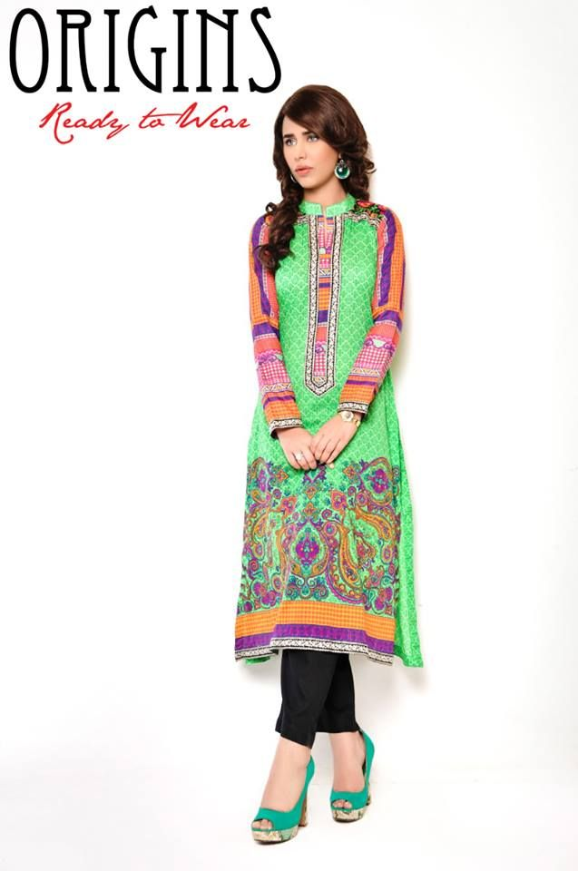 """origins dresses,latest spring collection 2014,latest spring/summer 2014,women ready to wear,fancy women dresses,young women wear,latest pakistan fashion,"