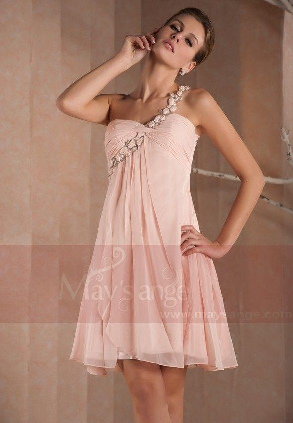 Petite Robe Florale Rosee Stock A 89 90 Du 34 Au 50 Par May S Ange