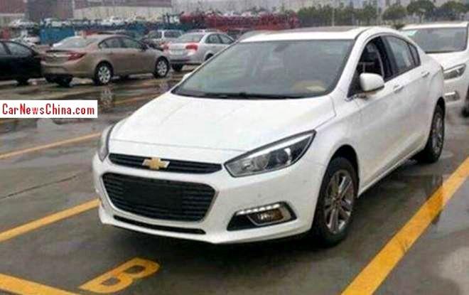 Nex Gen Chevrolet Cruze Captured Ahead Of 2014 Beijing Motor Show