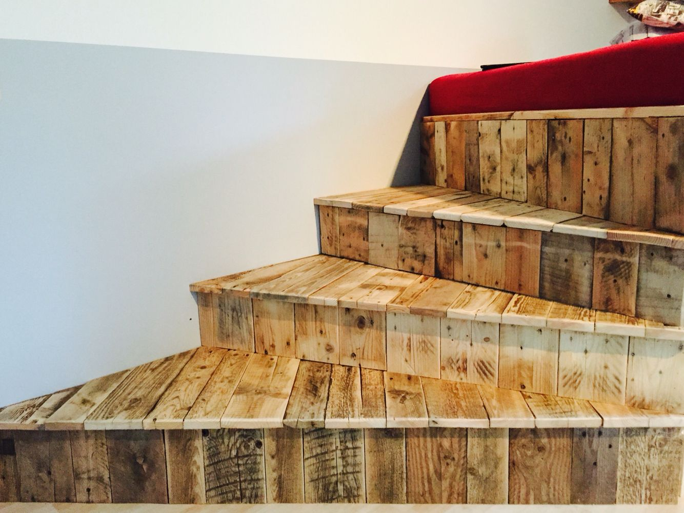 Regale Aus Palettenholz Treppe Zum Hochbett . . . Palettenholz | Pallet Projects, Decor, Home Decor