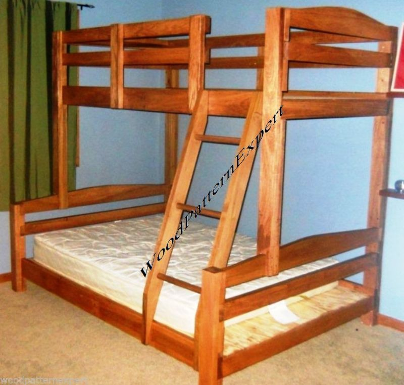 Details about bunk bed paper patterns build king over