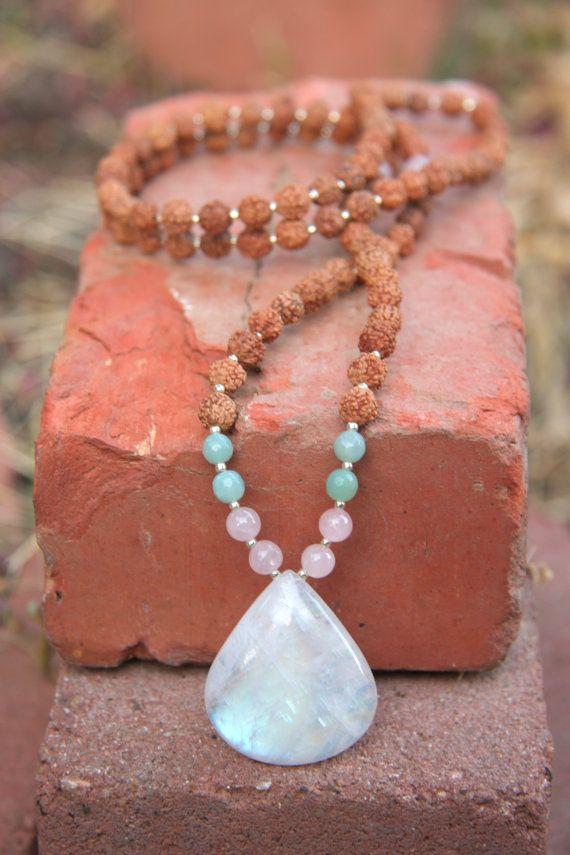 Motherhood  Mala / Pregnancy Mala - Meditation Inspired Yoga Beads / mala beads