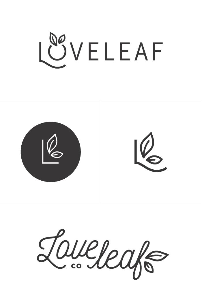 Carte Visite Loveleaf Co Branding