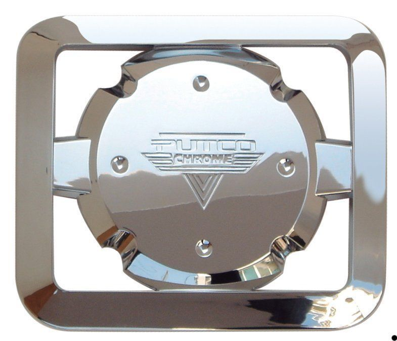 WCS 971760 Dodge Charger Gas Cap Cover Trim ABS Plastic Chrome