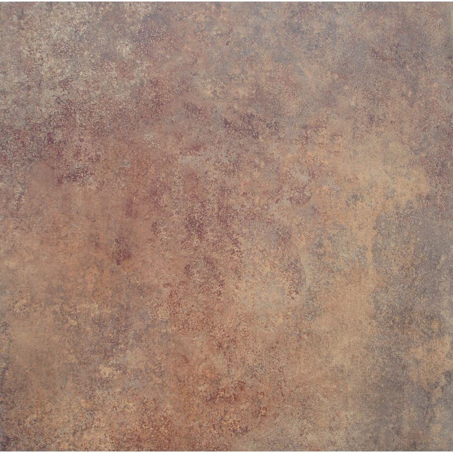 Shop stainmaster 18 in x 18 in rust stone finish luxury vinyl tile shop stainmaster 18 in x 18 in rust stone finish luxury vinyl tile at doublecrazyfo Choice Image