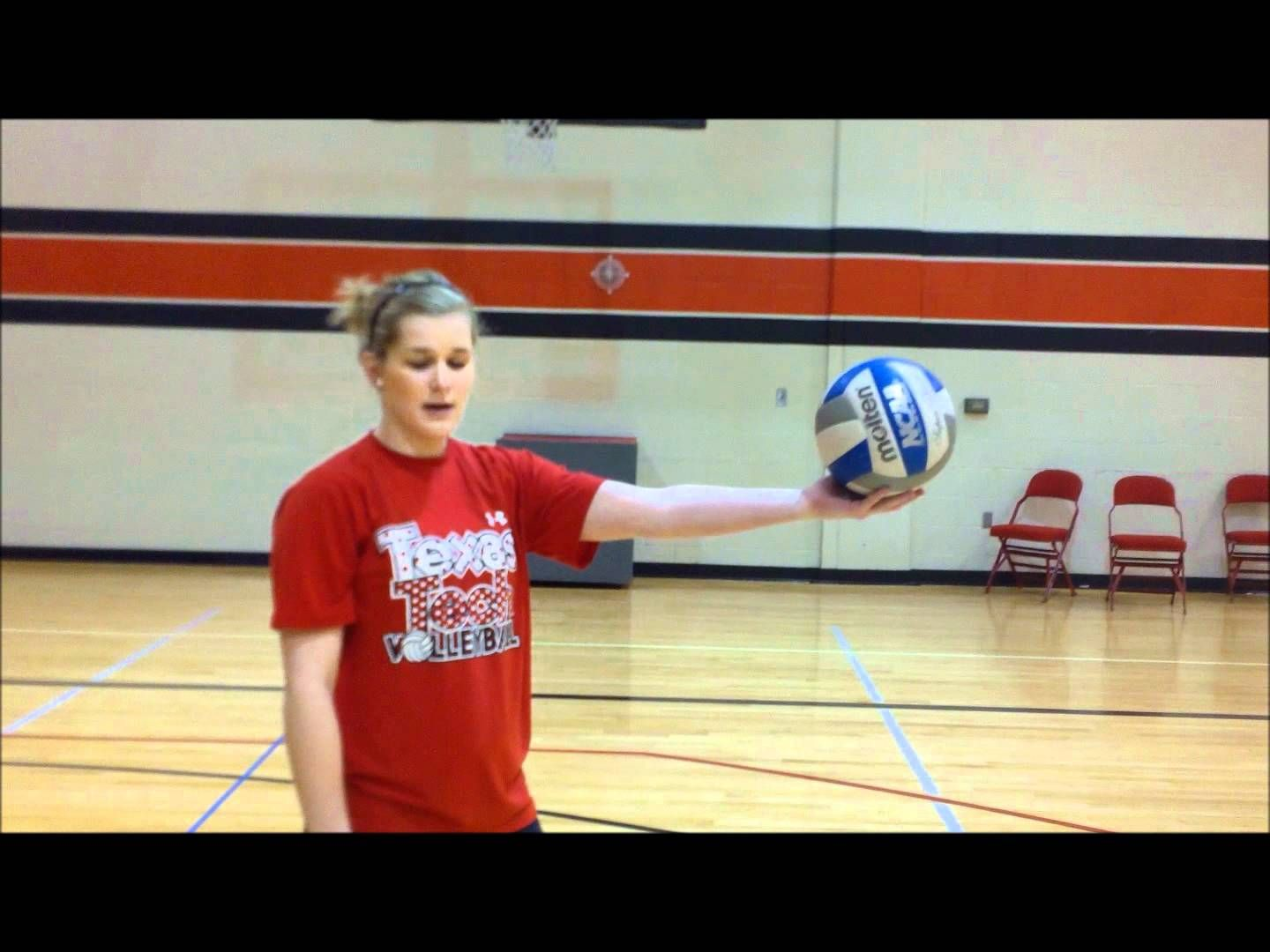 Sheridan Burgess Volleyball Serving Tutorial Volleyball Training Volleyball Workouts Volleyball Practice