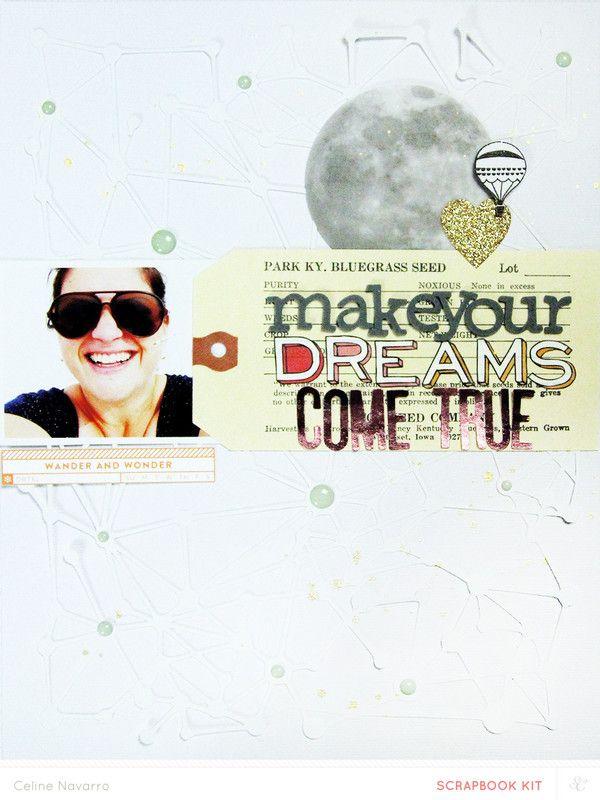Make Your Dreams Come True by celine navarro at @studio_calico