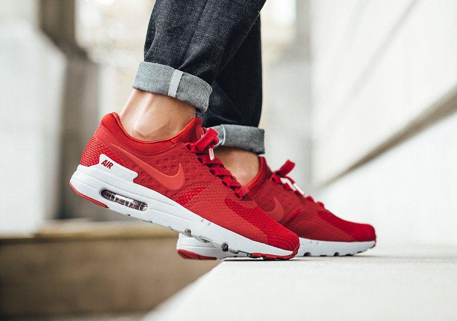 Nike Air Max Zero Premium Mens Red