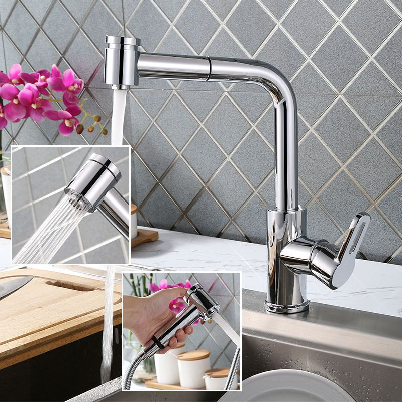 Details zu Küchenarmatur Ausziehbar Wasserhahn Profi Mischbatterie - einhand mischbatterie k che