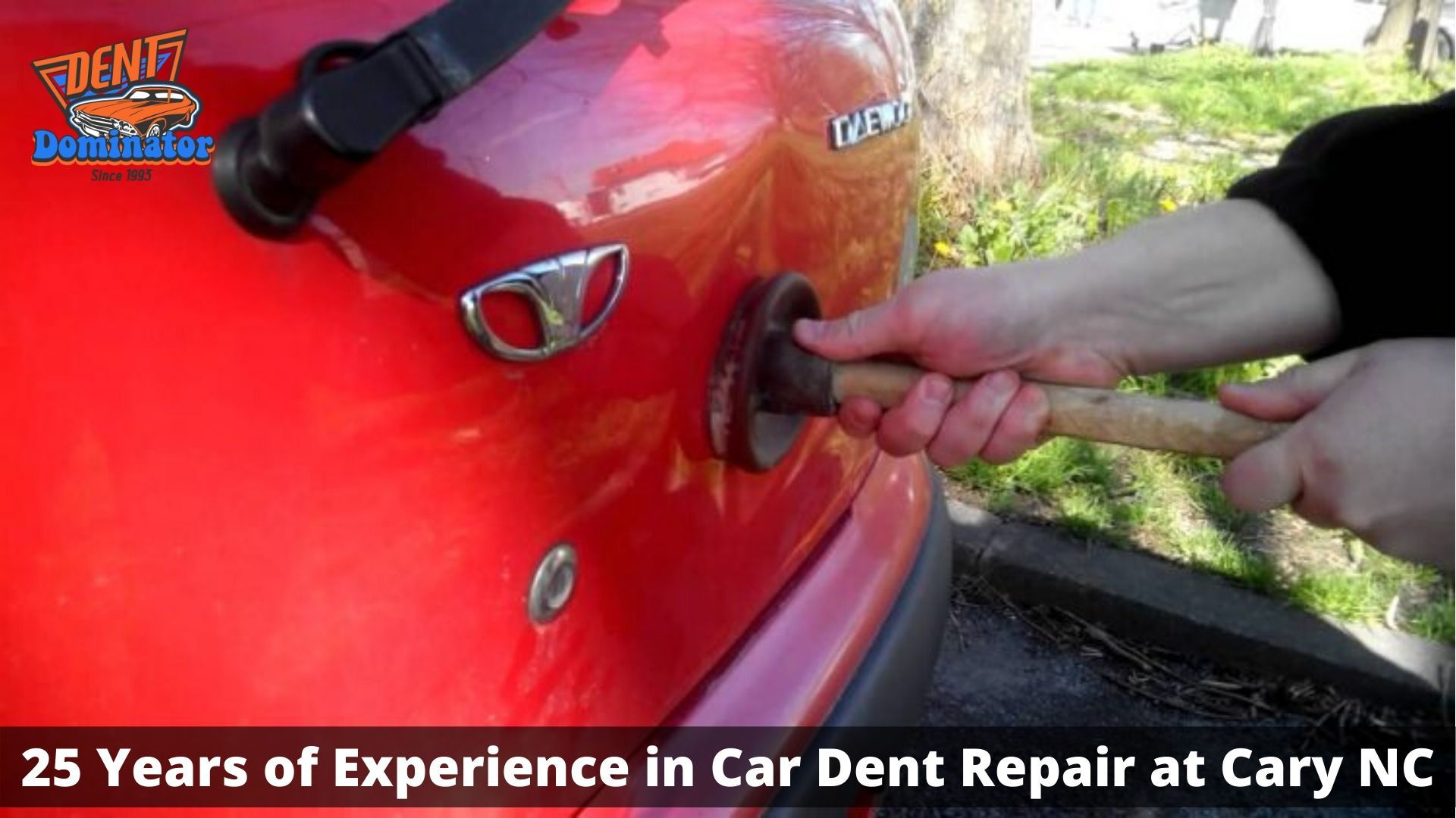 how much to fix a dent in a car hood