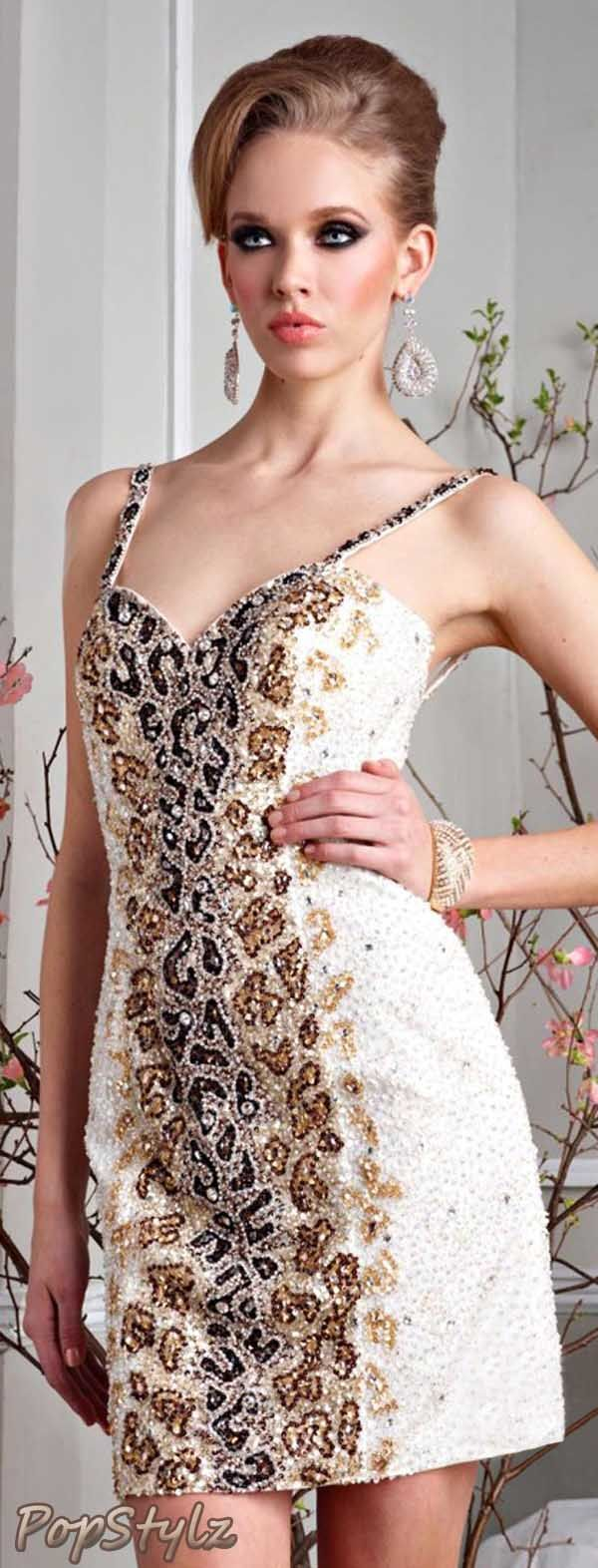 Terani Couture Cocktail Dress | things id love to wear | Pinterest