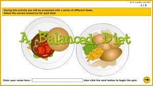 A Balanced Diet During This Activity You Will Be Presented With A Series Of Food You Will Choose Whether Each One Is A Balanced Or An Unbalance Pinteres