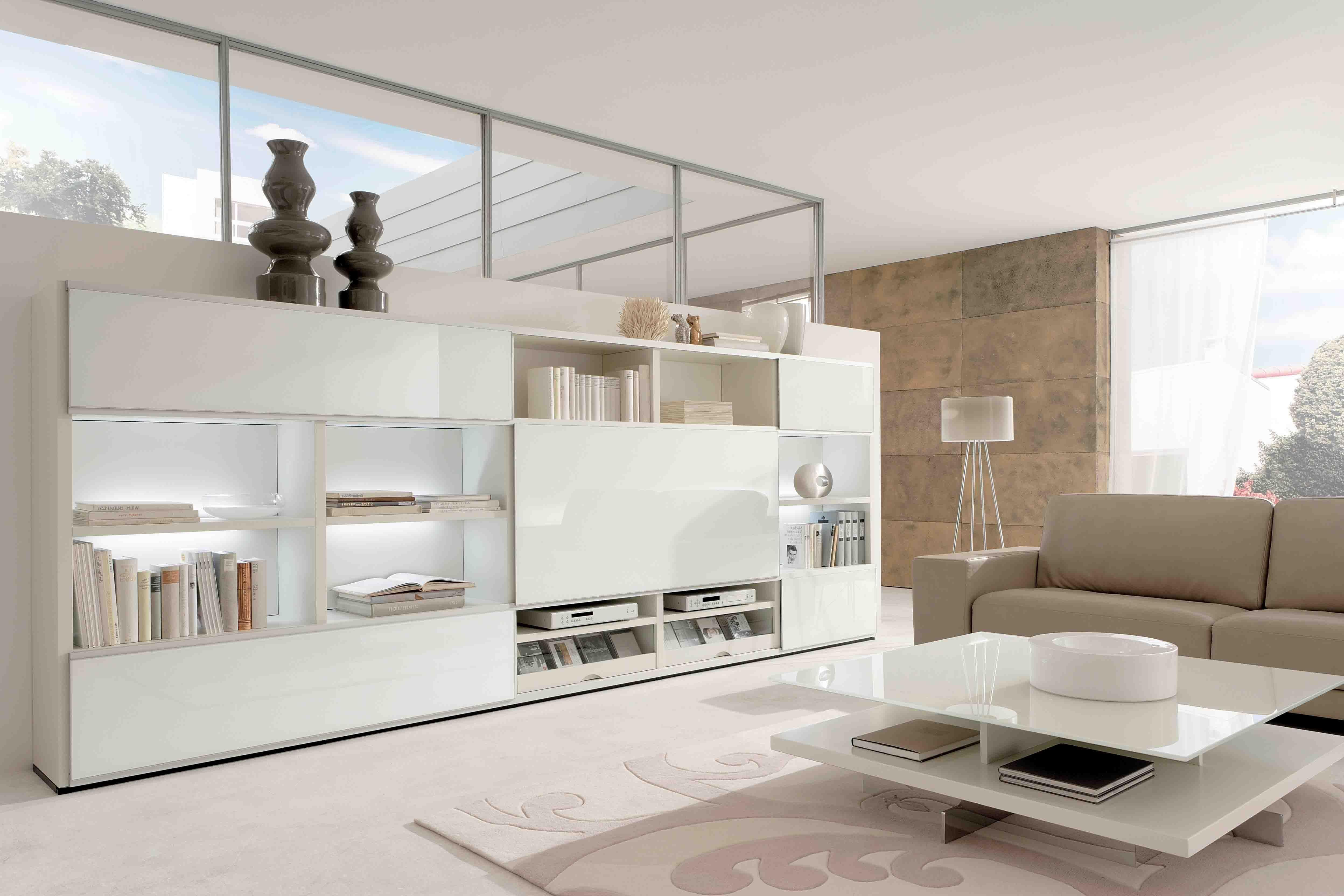 23 Fresh Picks: White Living Room Furniture. New Lack And White ...