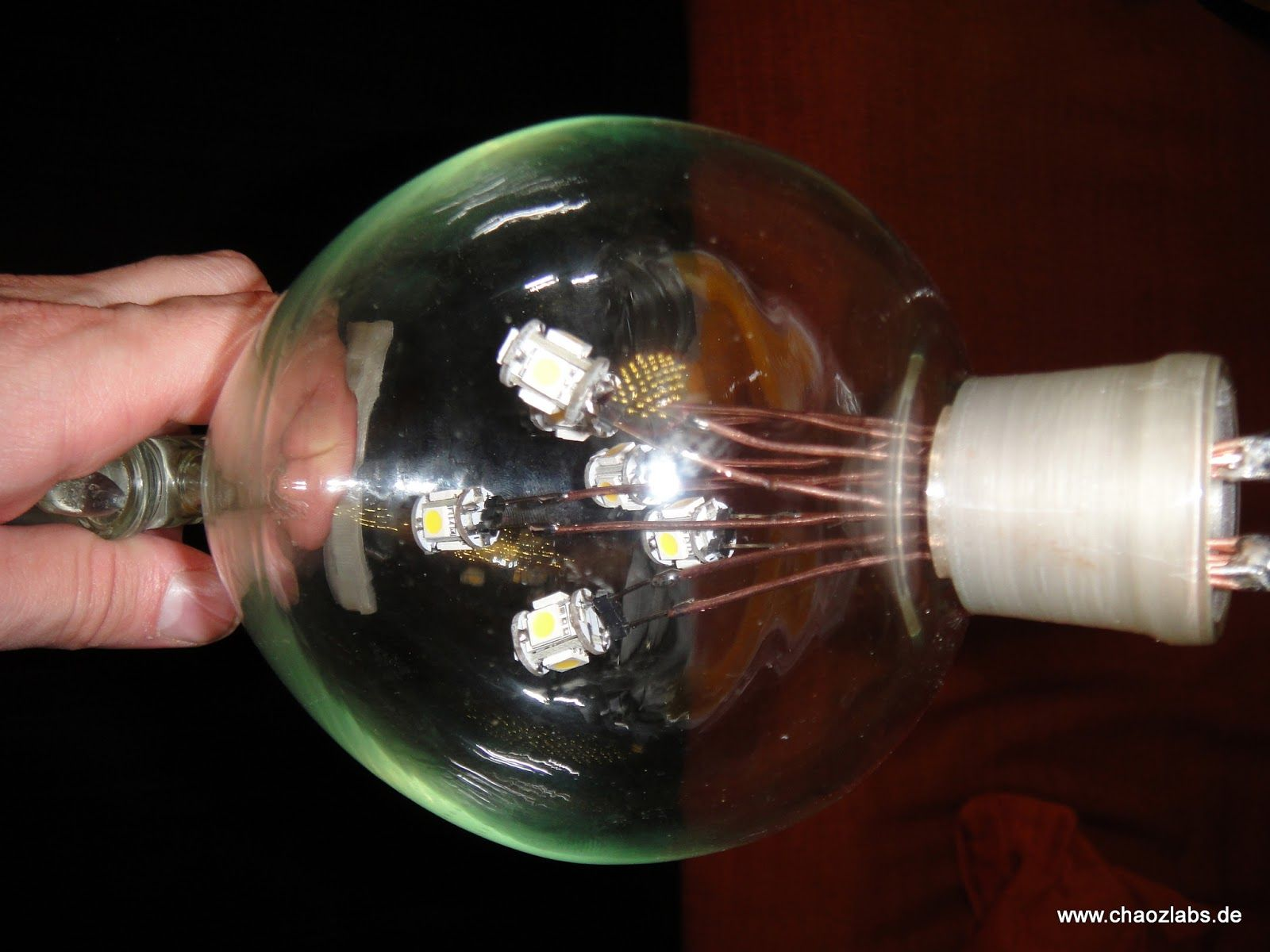 diy light projects | Cool DIY project. Used laboratory ...
