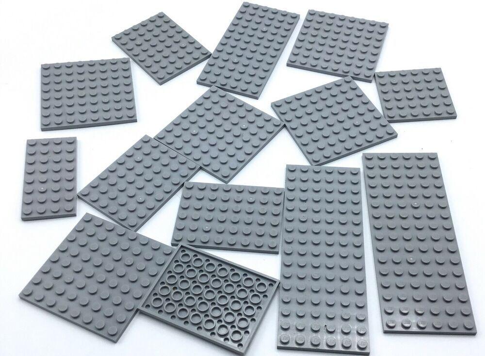 Dark Bluish Gray Tile 1x3-63864  NEUF Lego x 5