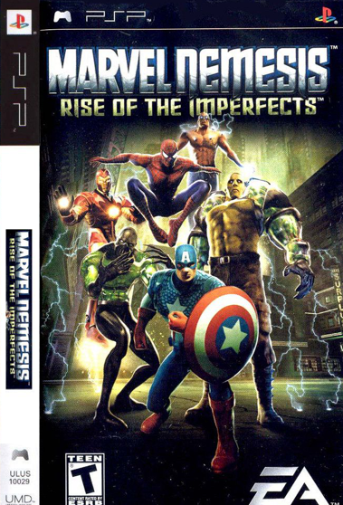 Marvel Nemesis Rise of the Imperfects PSP ISO Free