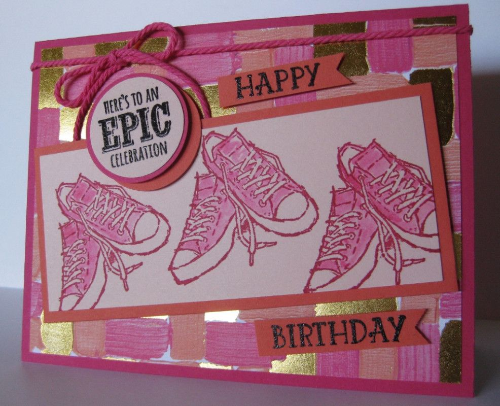 Another epic birthday card by barb mann at