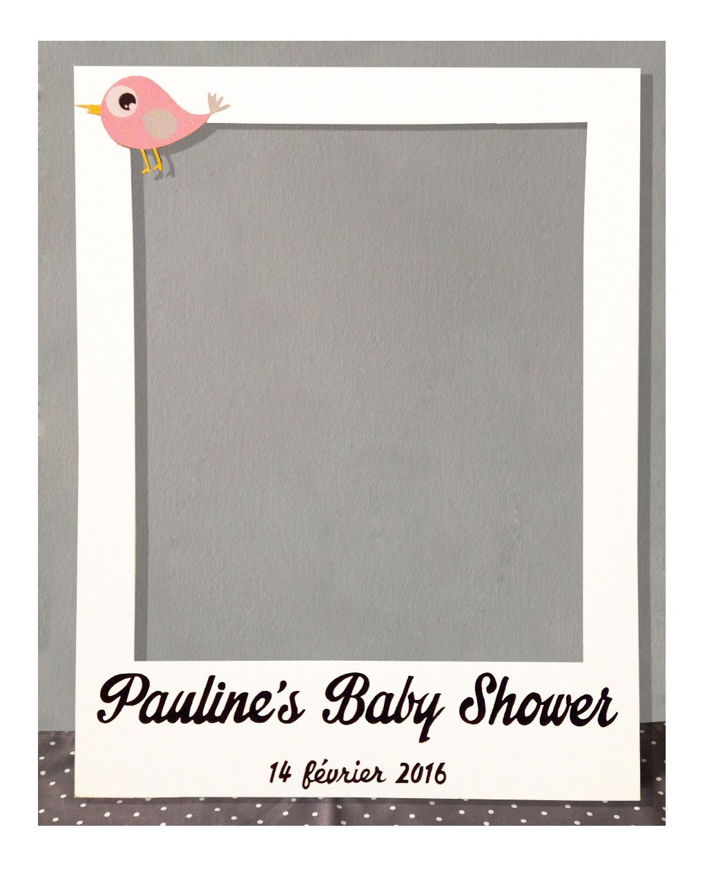 Cadre Multi Photo Grand Format Cadre Photobooth Babyshower Party S Diy Photo Booth Baby