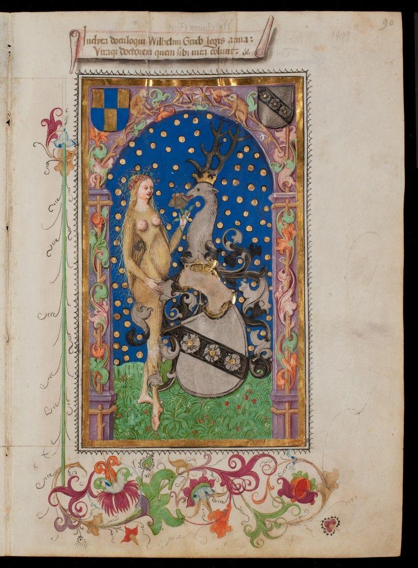 Rektoratsmatrikel der Universität Basel, Band 1 AN II 3 Basel/Schweiz nach 1460 Folio 90r