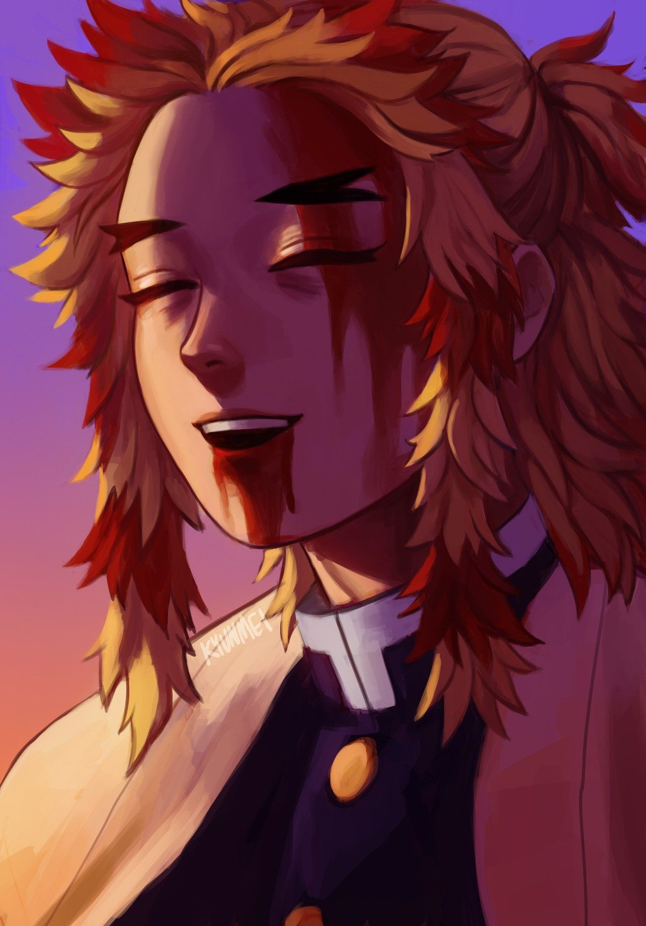 Rengoku is easily one of the most lovable hashira in the series. Pin on Demon Slayer