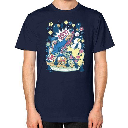 Phoenix Pie Unisex T-Shirt (on man)