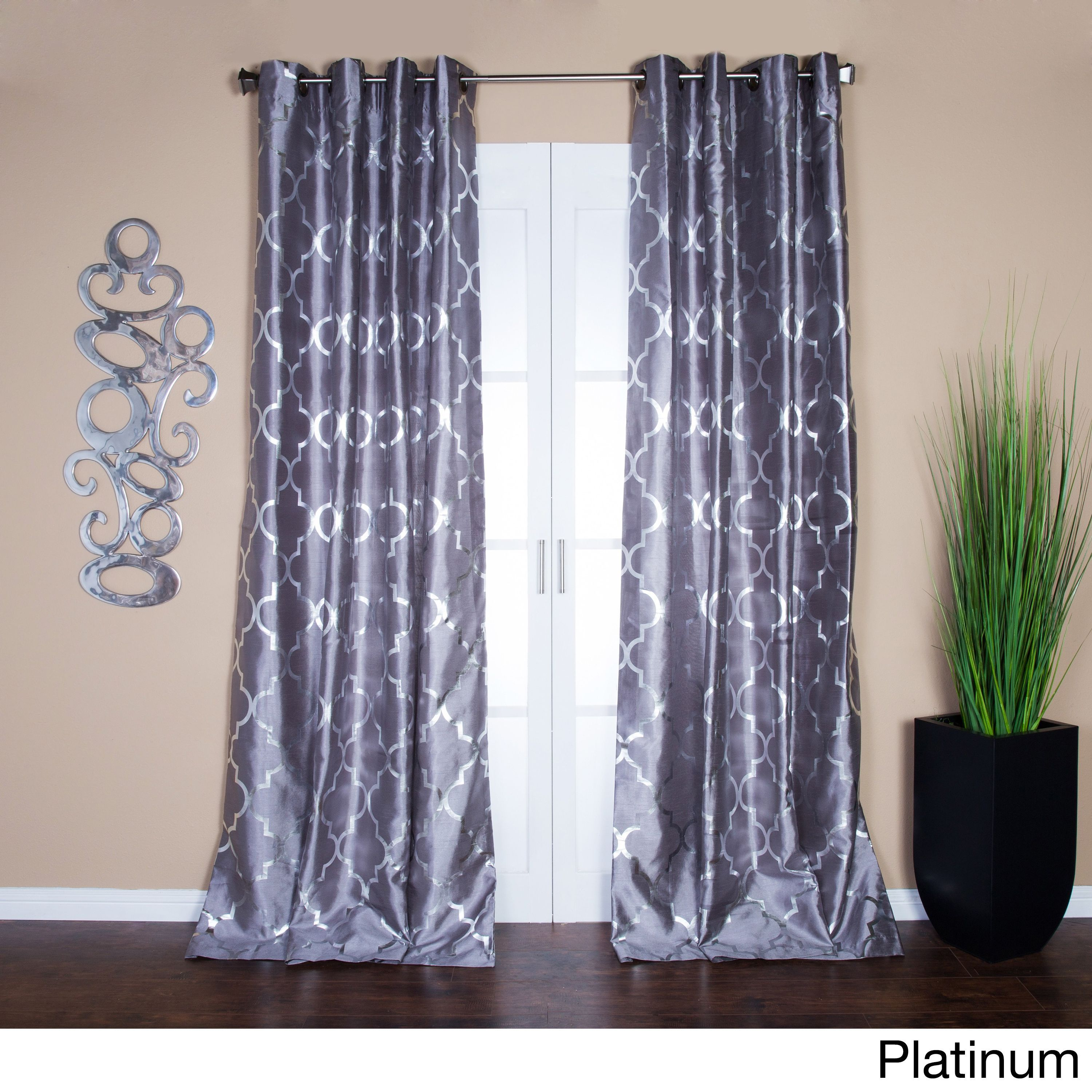 best catalog home white trellis design grey pattern and avarii curtain country panels ideas org curtains ivory