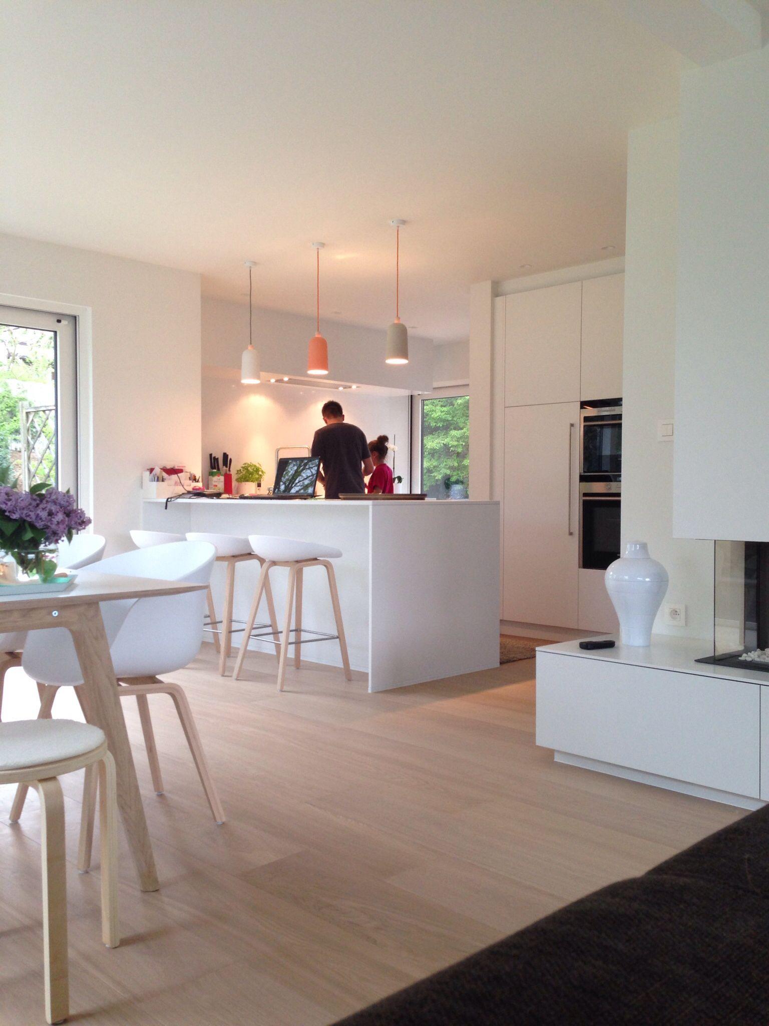 Abtrennung Küche inkl Lampen Zuhause Pinterest Cuisines, Bar cuisine et Cuisiner