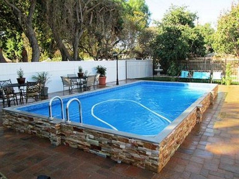 20 Marvelous Backyard Pool Ideas On A Budget Above Ground Pool