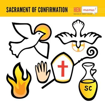 Sacrament Of Confirmation Clip Arts Christian Clipart Graphics