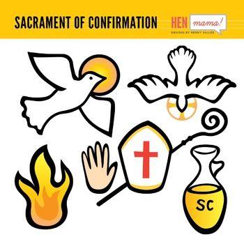 Sacrament of Confirmation Clip Arts | Holy spirit ...