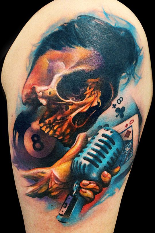 3614621944939 Tattoo Masterpieces: the Fusion of the Primeval and Modern. Tattoo  Masterpieces: the Fusion of the Primeval and Modern Skull Tattoos ...