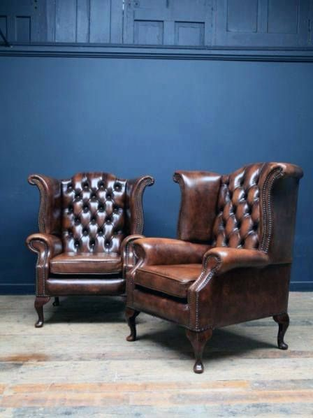 Superior Furniture Ultimate Man Cave Chair Traditional Brown Leather Luxury Design