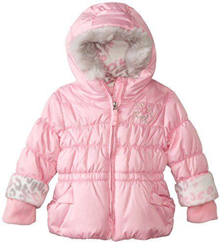 a04630518f10 ZeroXposur Baby Girls Kalea Puffy Jacket Blusher 18 Months     Click ...
