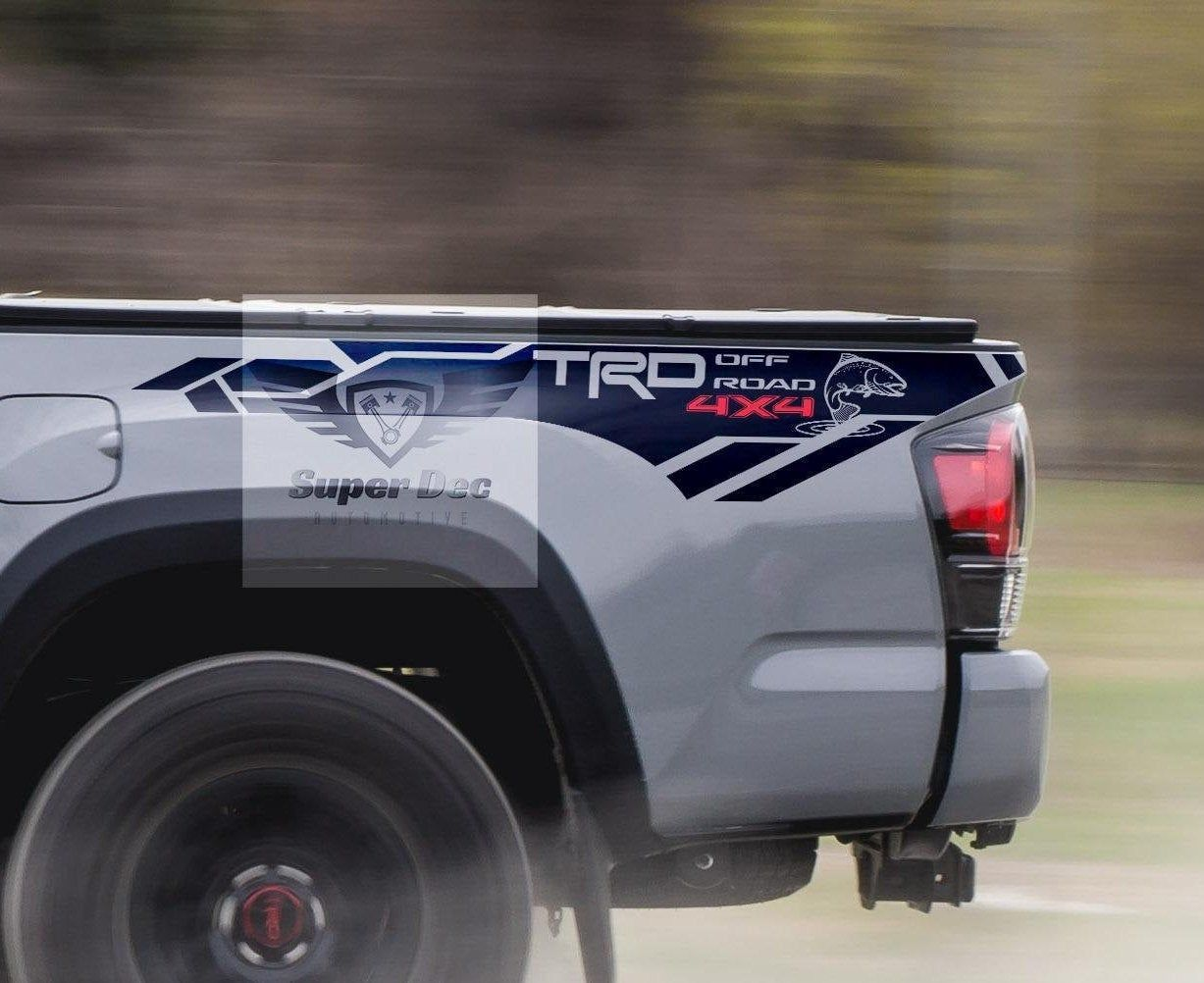 Trout Edition TRD 4x4 PRO Sport Off Road Side Vinyl