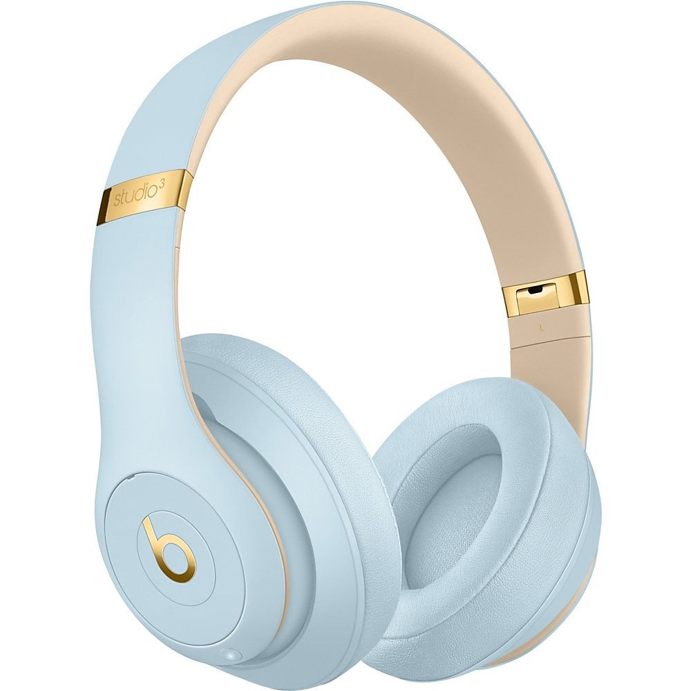Beats By Dr Dre Beats Studio3 Wireless On Ear Headphones Crystal Blue Wireless Headphones In Ear Headphones Headphones