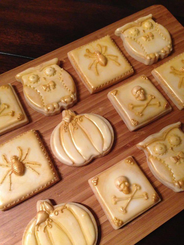 Vintage Halloween -cookies