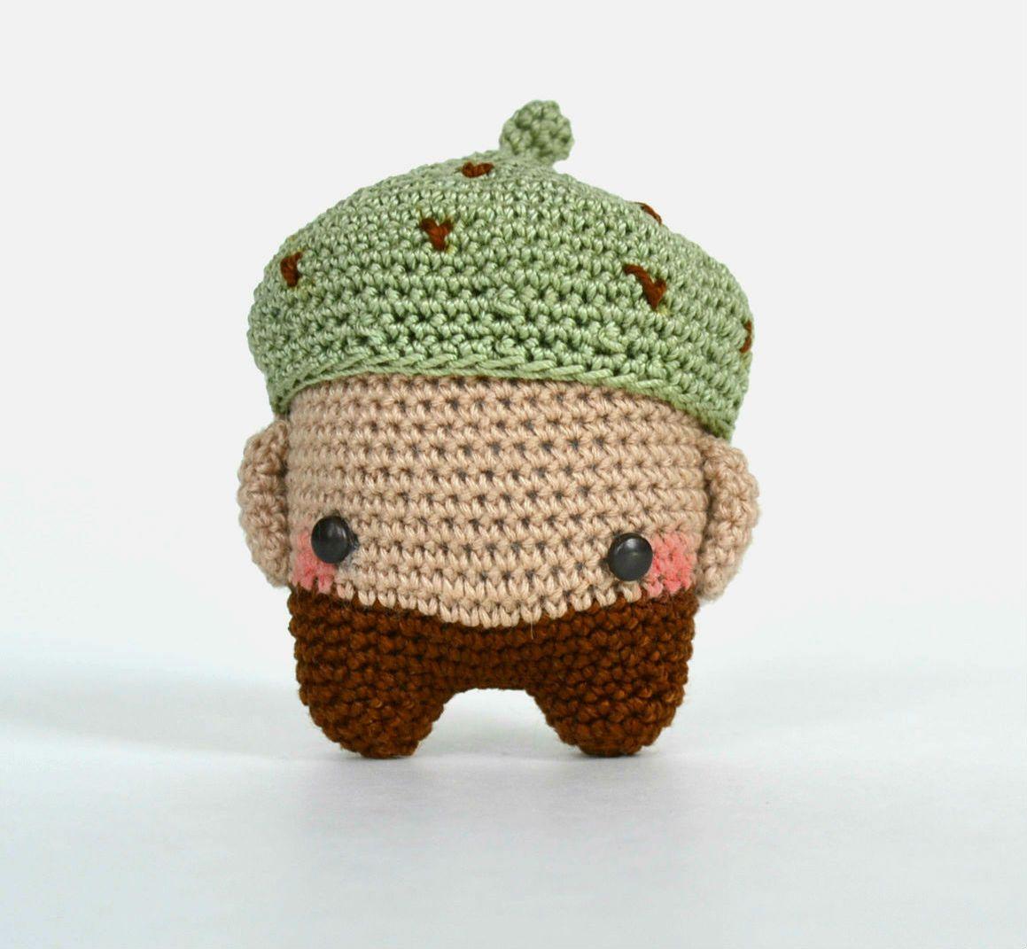 acorn Erwin made by Kelly Dupuis from KnittenMitten / crochet ...