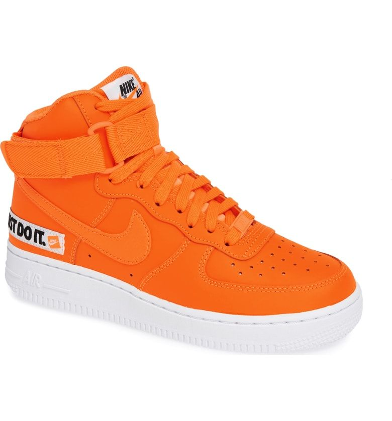 hot sale online c9b6b f42d3 Free shipping and returns on Nike Air Force 1 High Top Sneaker (Women) at