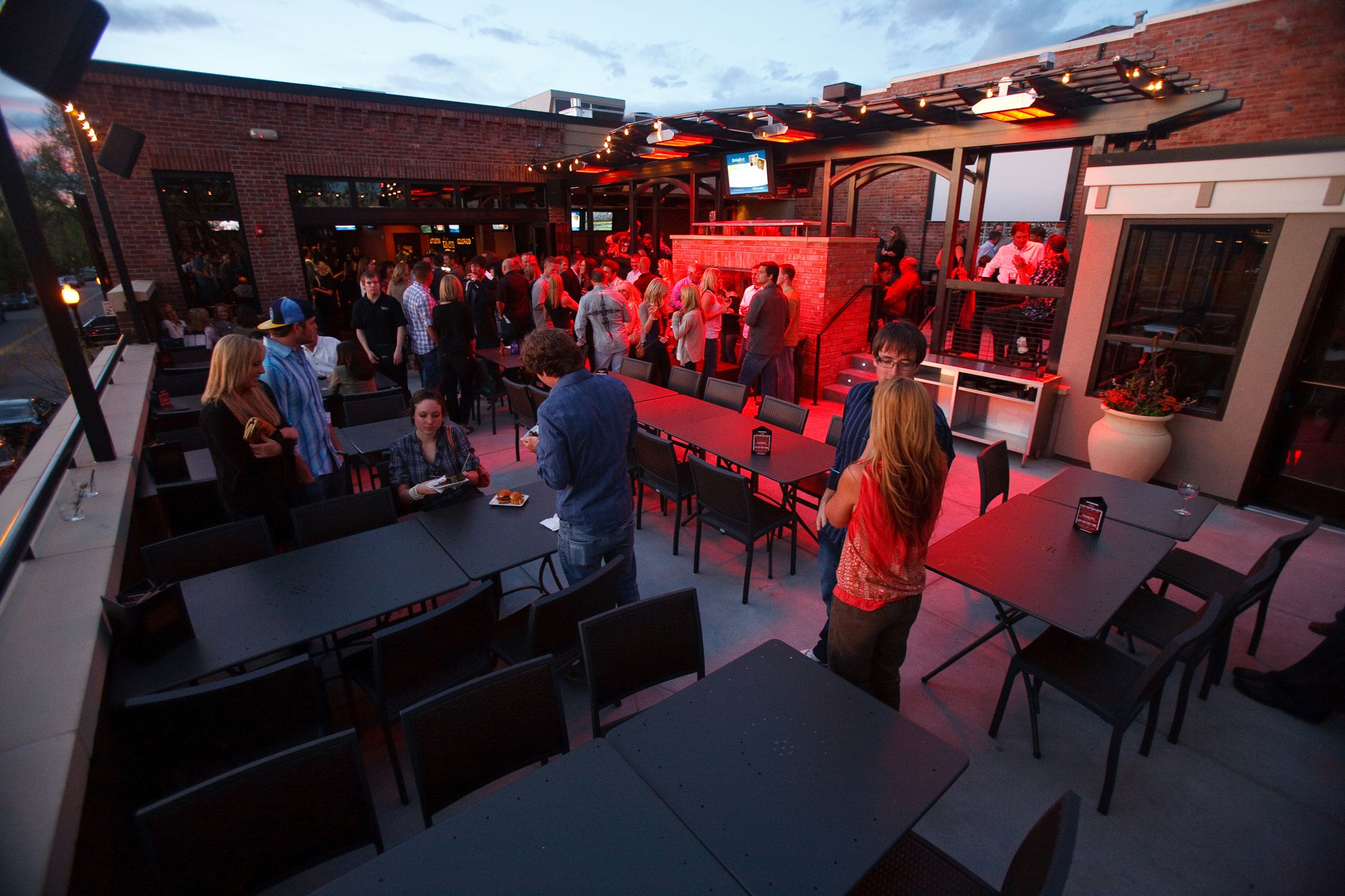 Tavern Littleton Littletonrooftop Http Www Tavernhg Com Littleton Private Parties Rooftop Patio Terrace Outdoor Seating