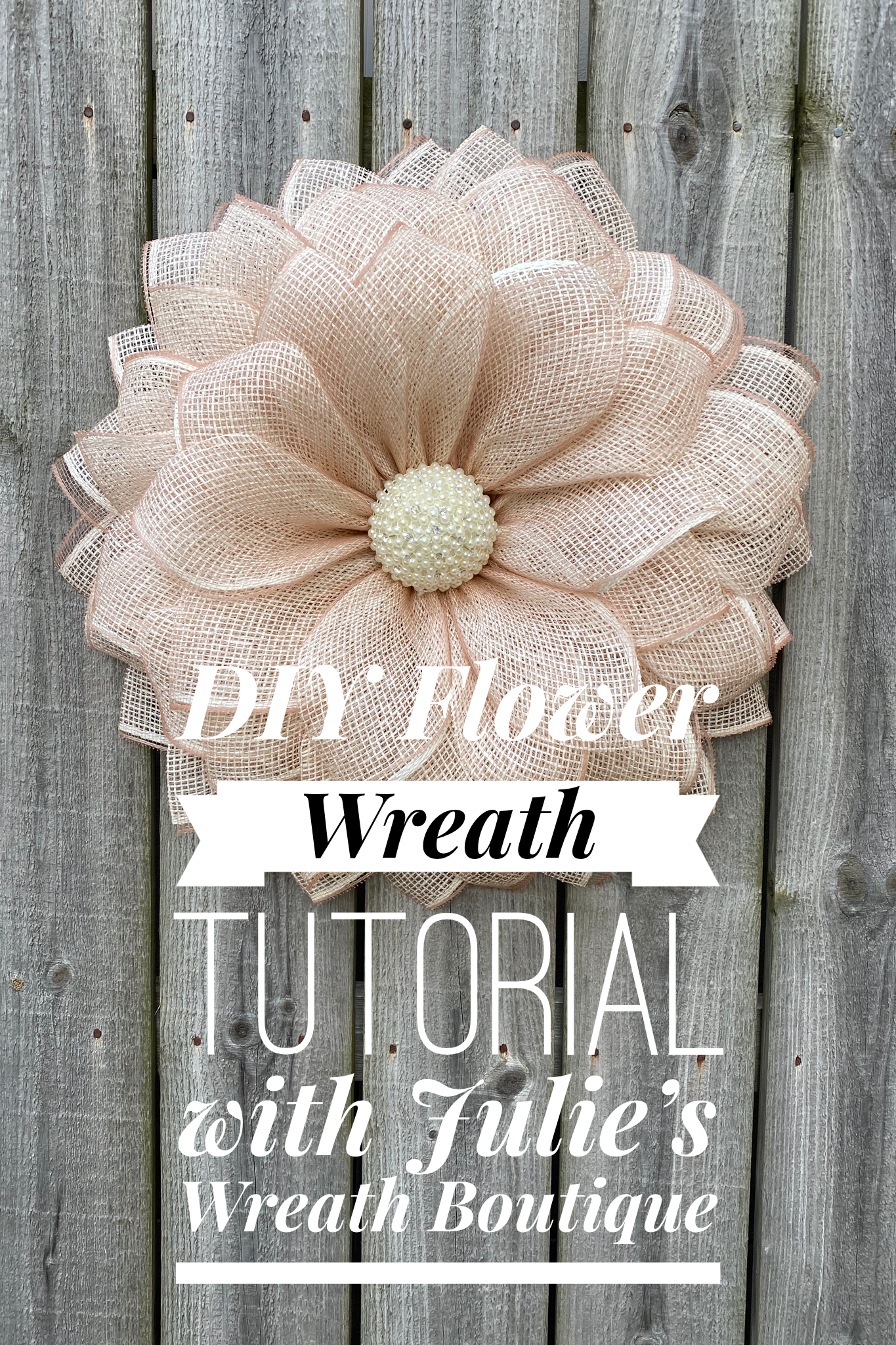 Photo of How to make a floral wreath